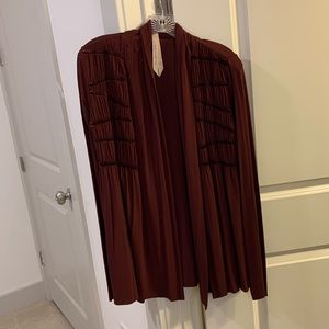 Bailey 44 beautiful burgundy cardigan size medium